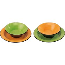 Nero 4 Piece Plate Set