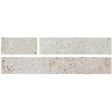 """Muratto 10.75"""" x 18.29"""" Peel & Stick Mosaic Tile in Ivory"""