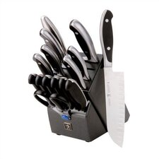 Forged Synergy 16 Piece East Meets West Knife Block Set