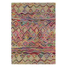 Ibiza Hand-Tufted Beige/Pink Area Rug