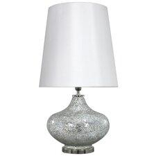 """Sparkle Mosaic Ellipse 27.95"""" H Table Lamp"""
