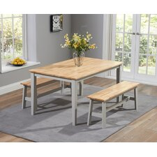 Allenstown Dining Table and 2 Benches