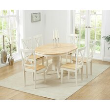Bartett Extendable Dining Table and 6 Chairs