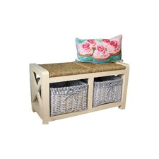 Westport Wood Storage Hallway Bench