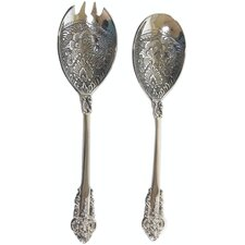 Baroque 2 Piece Salad Server Set