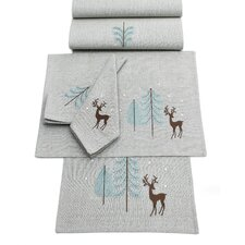 Frosty Woodland Napkins (Set of 4)