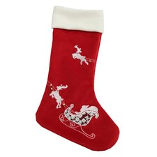 Santas Sleigh Stocking