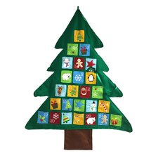 Christmas Tree Felt Wall Advent Calendar