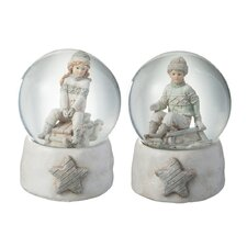 2 Piece Snow Globe Child Ski Set