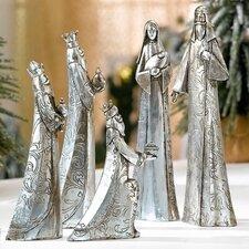 5 Piece Crib Decorative Figurine Set
