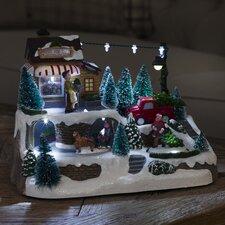 Dekorativer Akzent Weihnachtsbaumverkauf