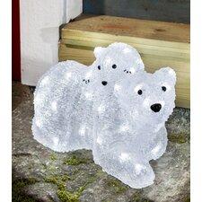 LED Acryl Eisbären