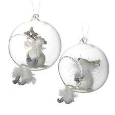 Reindeer Ball Ornament