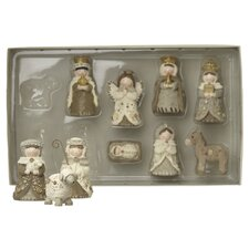 10 Pieces Small Nativity Set