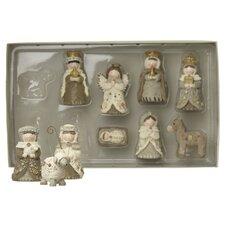 10 Pieces Small Nativity Set