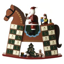 Wooden Rocking Horse Advent