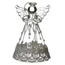 Angel with Lace Dress Hanging Figurine (Set of 6)