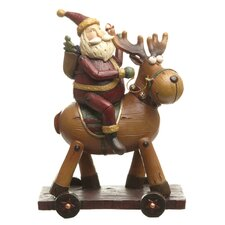 Santa and Reindeer Deco
