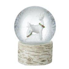 Reindeer Snow Globe
