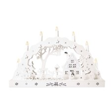 LED Candle Bridge 12 Light Lamp