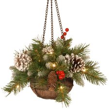 Frosted Berry Hanging Basket