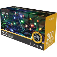 Multi Action LED 200 Light String Lighting