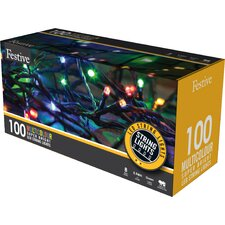 Multi Action LED 100 Light String Lighting