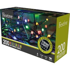 Low LED with 8 Multifunction 200 Light String Lighting