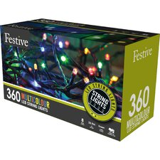 LED with 8 Multifunction 360 Light String Lighting
