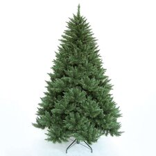 """7'11"""" Green New Alberta Pine Artificial Christmas Tree with Stand"""