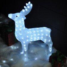 LED Crystal Effect Christmas Reindeer Lighted Display