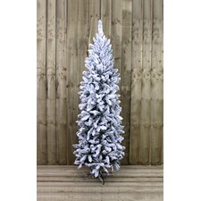 195cm White Spruce Artificial Christmas Tree