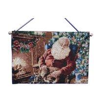 Fibre Optic Santa Tapestry