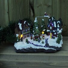 Christmas Village and Sound Lighted Display