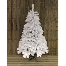 120' White Artificial Christmas Tree with Stand