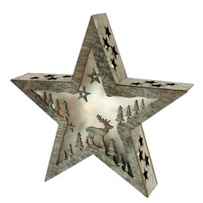Bo Lit Star with Deer Design
