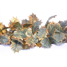 Girlande Gold Ilex With Gold Berry