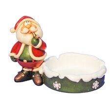Santa Ashtray Figurine (Set of 2)