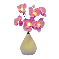 Time Smart 6 Light Orchid in Vase