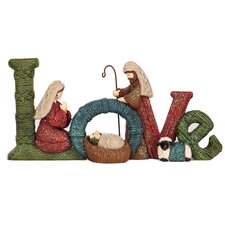 Nativity Love Sign