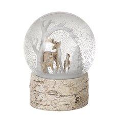 Christmas Deers Scene Snow Globe
