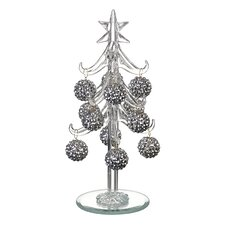 Glass Tree Bauble Set