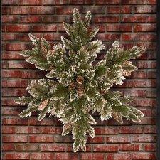 Glittery Bristle Pine Snow Flake
