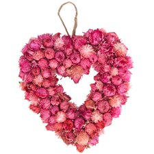 Trockenblumenkranz 28 cm
