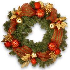 76cm; PVC Wreath