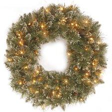 Kiefernkränze Glittery Bristle 61 cm