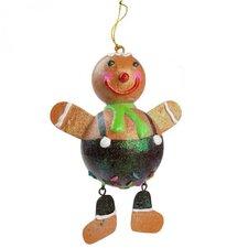 Gingerbread Hanging Figurine (Set of 4)