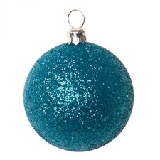Xmas Glitter Shatterproof Ball Ornament (Set of 18)