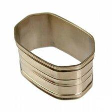 Oblong Shaped Napkin Ring (Set of 6)