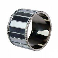 Mirrored Napkin Ring (Set of 6)